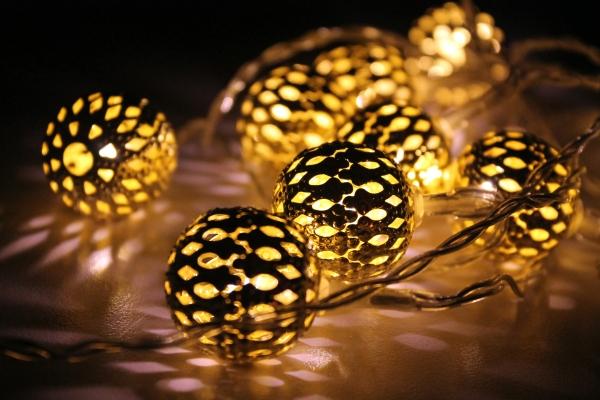 Christmas Lights NOTD