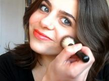 Screenshot from my Make up DON'TS video
