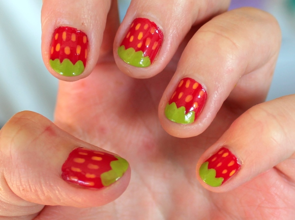 NOTD Strawberry Springtime