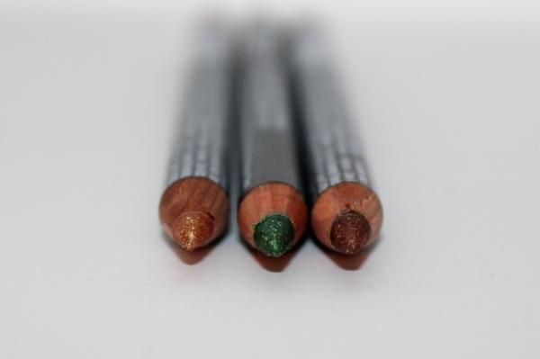 NYX glitter pencils