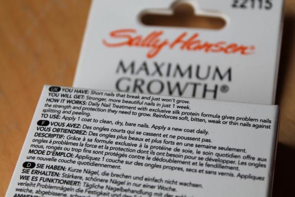 Sally Hansen Daily Nail Treatment