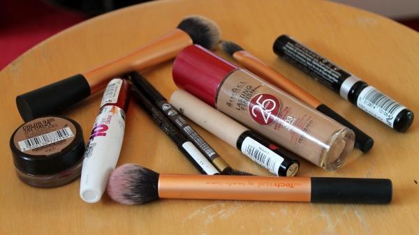 3 minute make up challenge