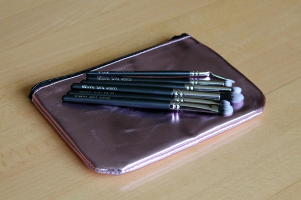 Review: Zoeva Eye Definition Brush Set