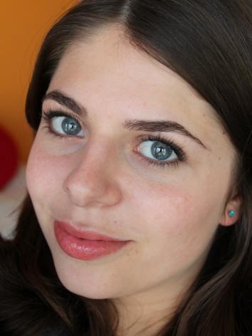 FOTD: Five minute bronze smokey eyes