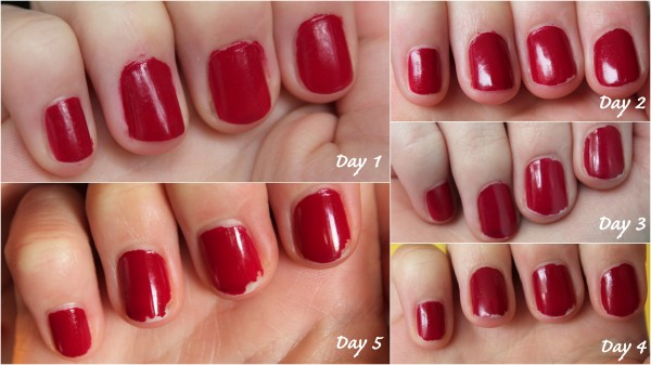 Review: Bourjois Paris 10 Days No Chips Nail Polishes