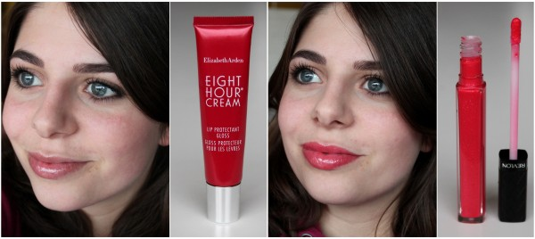 Lipglosses by Revlon and Elizabeth Arden
