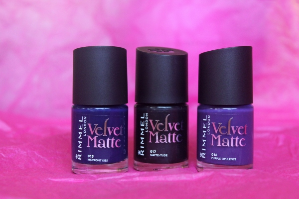 Nail Fail?! Rimmel London Velvet Matte